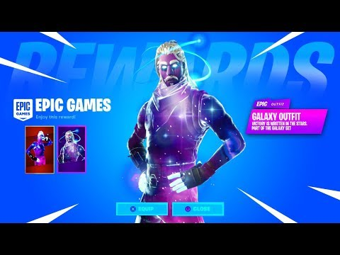 CLAIM The EXCLUSIVE GALAXY SKIN In Fortnite Chapter 2.. (NEW)