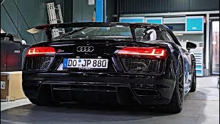 2017 Audi R8 Coupé quattro V10 Plus w/ ARMYTRIX Titanium Exhaust By JP Performance - BRUTAL SOUNDS!