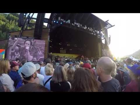 FRONT ROW AT PEARL JAM CONCERT // The Ride Festival 2016