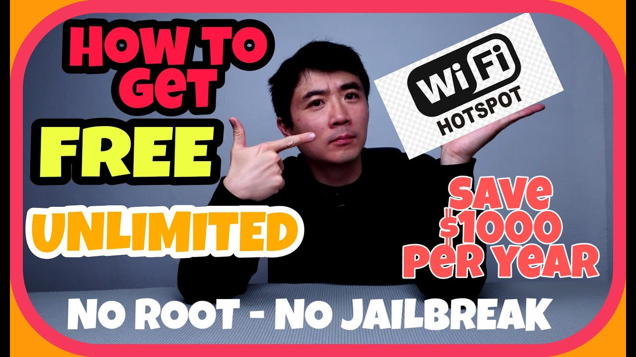 Download How to get Free Unlimited Wifi Hotspot from your mobile data plan save $1000s per year Netshare app