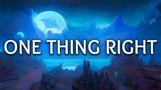 Marshmello ‒ One Thing Right (Lyrics) ft. Kane Brown