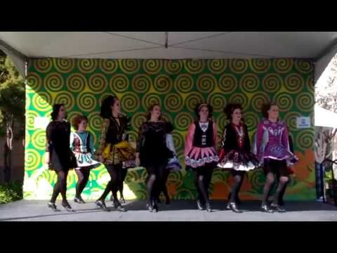 Irish Tap Dancing on Saint Patricks Day 2013 in Dublin, CA