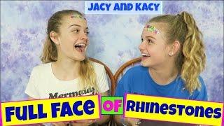 Full Face of Rhinestones Challenge ~ Jacy and Kacy