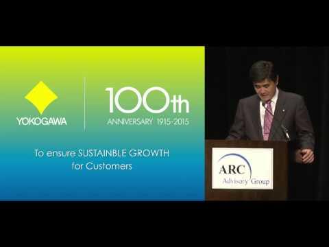 ARC Industry Forum 2015: Keynote Speech of Yokogawa