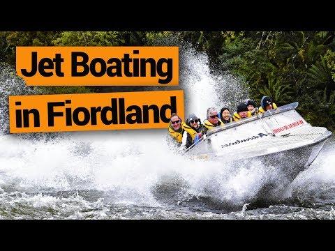 Jet Boating in Fiordland (Waiaurahiri Wilderness Jet) –  New Zealand's Biggest Gap Year