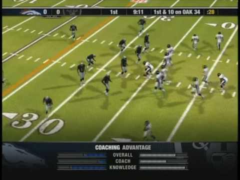 NFL Head Coach 09 Gameplay - YouTube