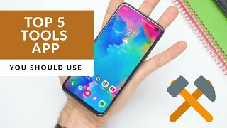 Top 5 best Android tools and utility apps You must have in 2020