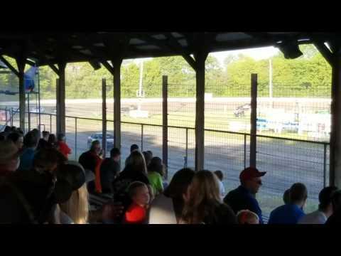 Dustin Virkus @ KRA Speedway- Heat 6.1.17