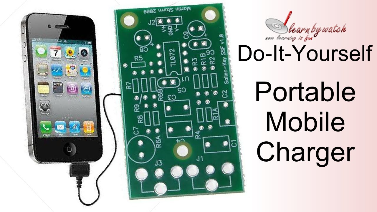 Make A Portable Mobile Charger At Home Hindi Urdu Youtube Circuit Diagram Cell Phones Schematic