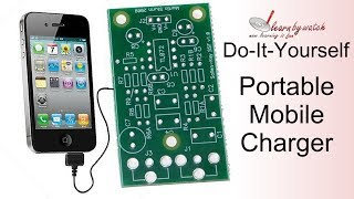 Make a Portable Mobile Charger at Home ( Hindi / Urdu )