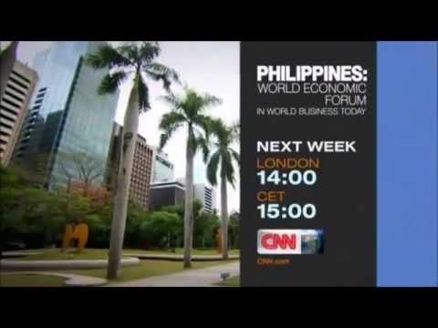 "CNN International ""Philippines: World Economic Forum"" promo"