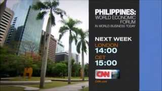 "CNN International ""Philippines: World Economic Forum"" promo"