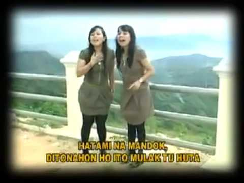 Lagu batak  Sianipar sister ~pajuppang di Bandara~.