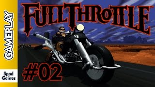 Full Throttle (PC): #2 (Walkthrough - Gameplay)