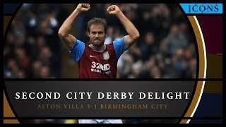 Icons: Aston Villa 5-1 Birmingham City – extended highlights