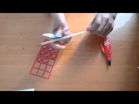 Balon ve kalemden bomba atar yapmak
