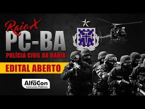Raio X - Polícia Civil da Bahia - Evandro Guedes - AlfaCon Concursos Públicos