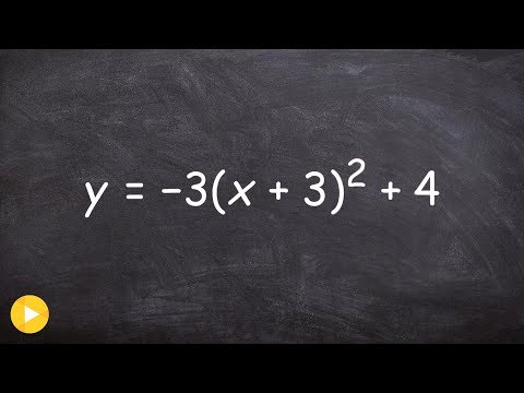 Graphing a quadratic with multiple transformations