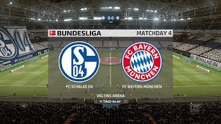 FIFA 19 | Schalke vs Bayern Munich - Veltins Arena  - (Full Gameplay Xbox One X)