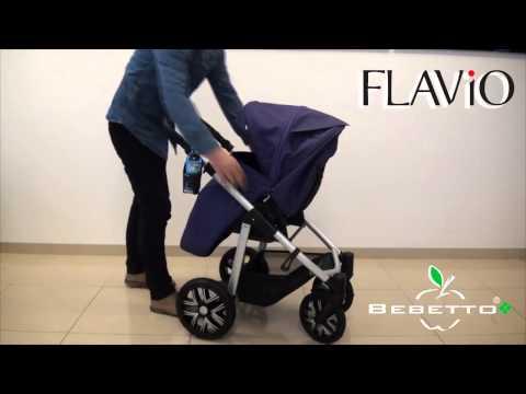 Универсальная коляска Bebetto Flavio   nowość 2014 HD