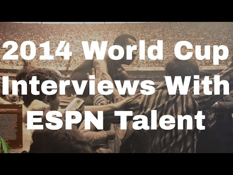 World Cup Memories: Interviews With ESPN's Soccer Pundits