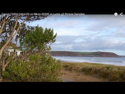 Canon 1200d (rebel t5) vs Nikon d3200 vs Lumix g2 Picture Samples