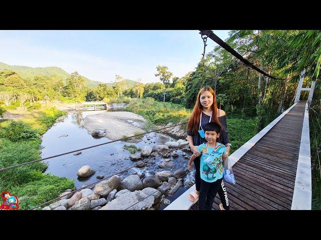 น้องบีม | เที่ยวราชบุรี ถ้ำจอมพล น้ำตกเก้าชั้น คลิปเต็ม