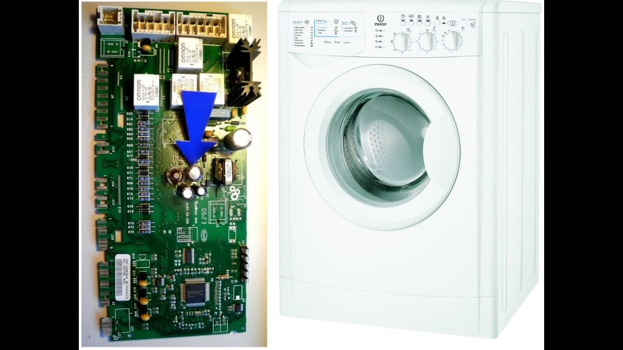 Indesit (washing machine): do it yourself repair. Possible faults and their elimination 23
