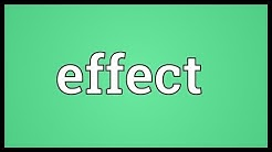 Effect Meaning