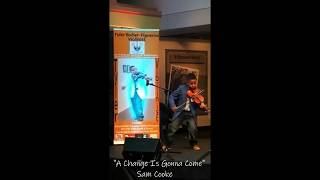 Sam Cooke - A Change Is Gonna Come (violin cover) Tyler Butler-Figueroa, 11 y.o.