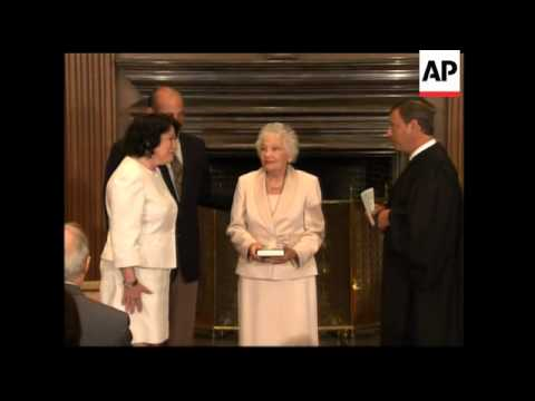First Hispanic Supreme Court justice sworn in