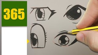 HOW TO DRAW A EYE CUTE, Easy step by step drawing lessons for kids