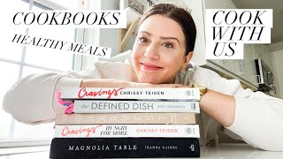 OUR FAVORITE COOKBOOKS + 5 Quick, Easy & Healthy Dinners / COUPLES COOK WITH US!