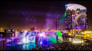 "Развлечения в Дубае -Световое шоу - IMAGINE Dubai Festival City - ""A Pirates Tale"""
