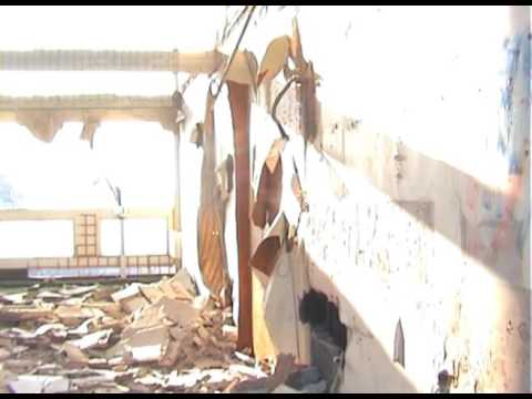 Silwood council estate demolition