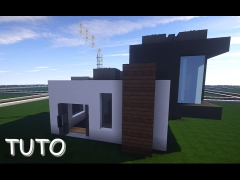 tuto petite maison moderne 10x10 minecraft youtube. Black Bedroom Furniture Sets. Home Design Ideas