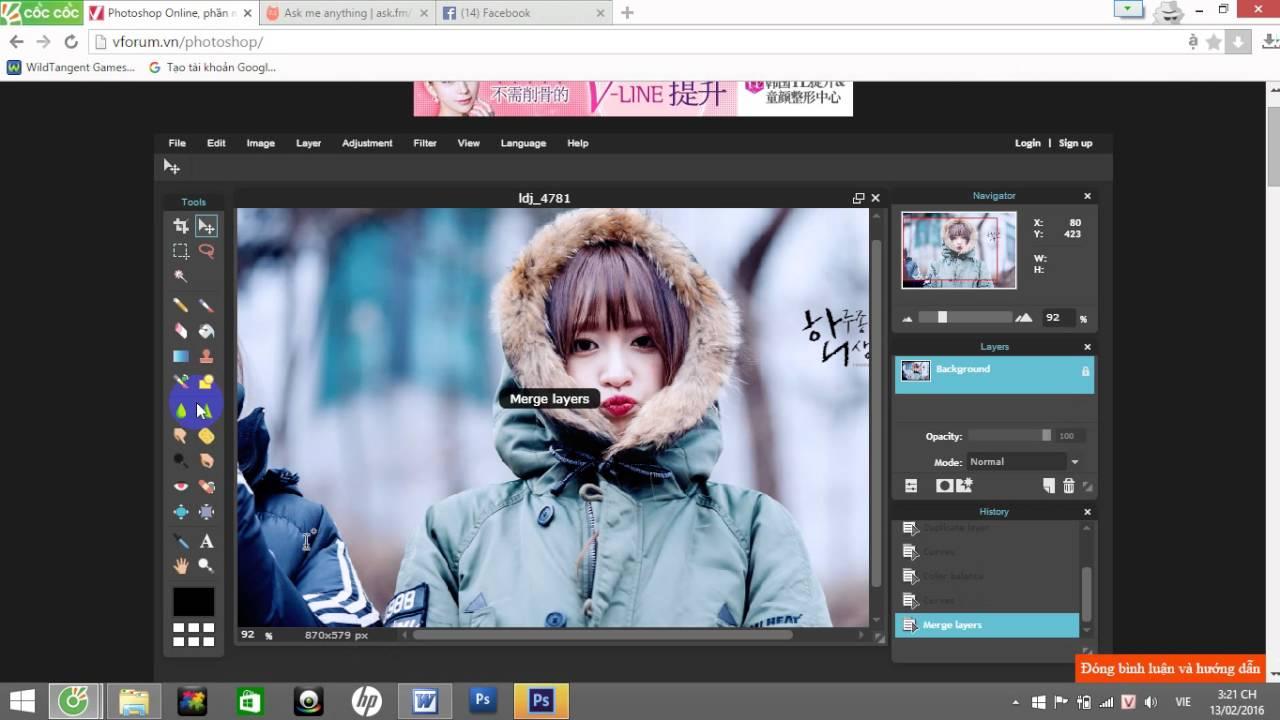 Photo shop free online