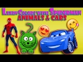 LEARN COLORS for Kids COLOR ANIMALS Superman Cartoon Cartoon Toddlers LEARNING COLORS for Children