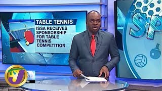 TVJ Sports News: Sponsorship for ISSA Table Tennis - January 28 2020