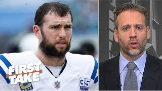 \'I\'m a little bit off the Andrew Luck bandwagon\' - Max Kellerman | First Take