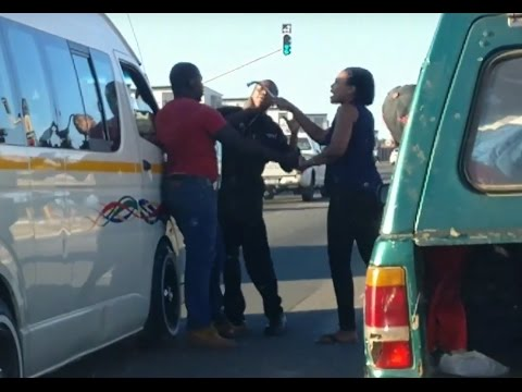 Taxi Altercation on William Nicol Drive - 28 March 2017