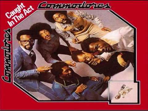 The Commodores - Caught In the Act LP 1975