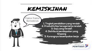 masalah sosial tentang kemiskinan di Indonesia dg powtoon