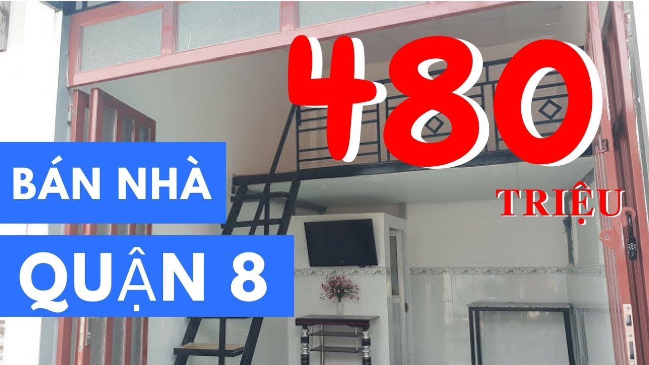 Bán nhà Quận 8 | Giá 480 triệu - hẻm 2117 Phạm Thế Hiển, phường 6, Quận 8 - ĐÃ BÁN