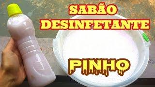 SABÃO DESINFETANTE CONCENTRADO – PARA RETIRAR QUALQUER ODOR DE BANHEIROS