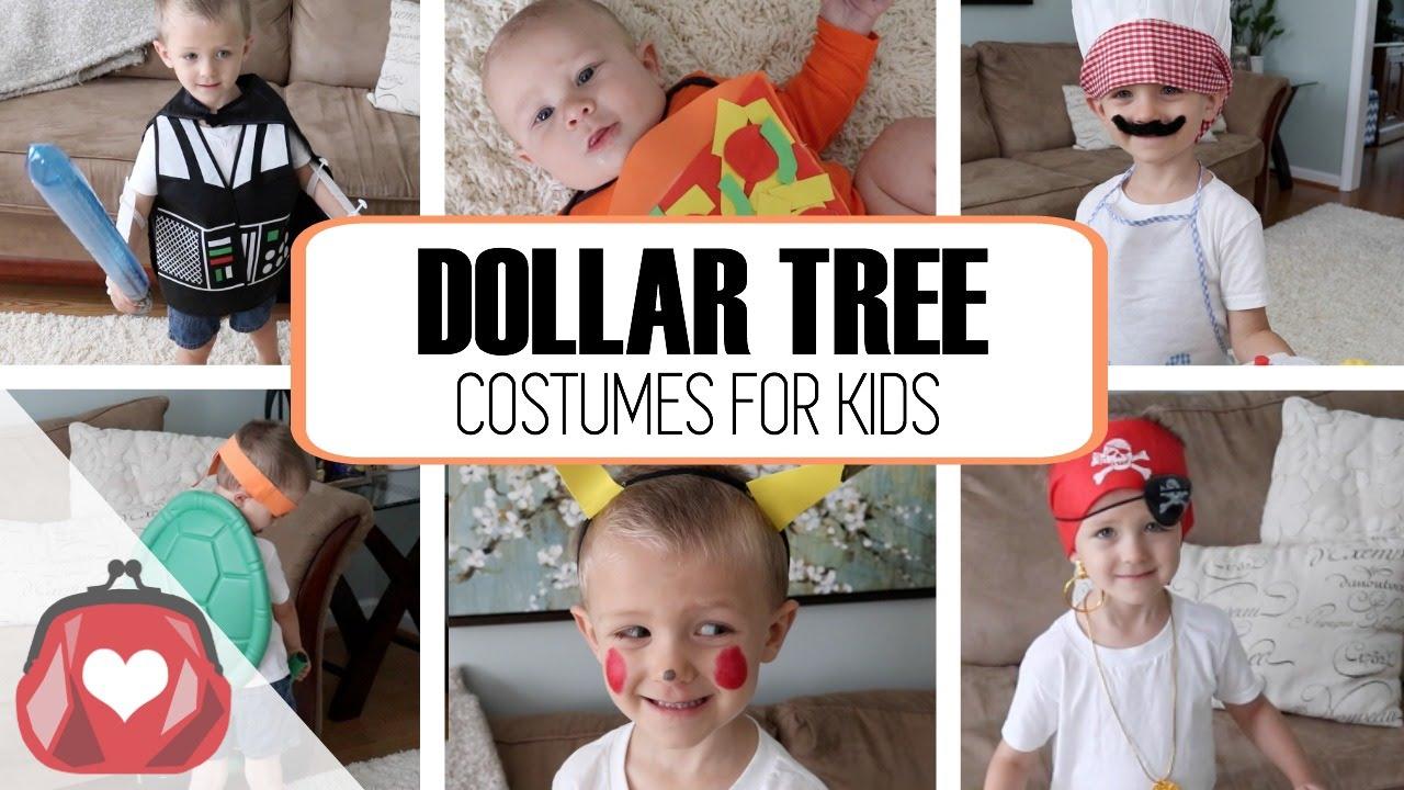 DOLLAR TREE | Halloween Costumes For Kids 2016