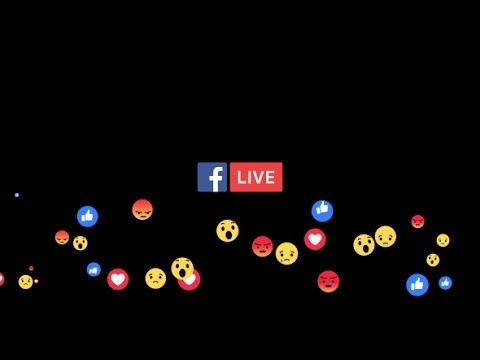 Facebook Live | After Effects template