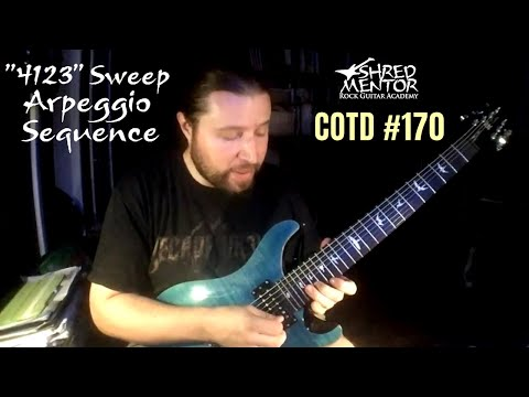 """4123"" Sweep Arpeggio Sequence 