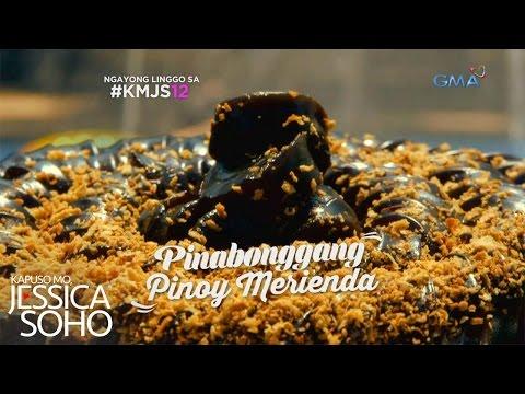 Kapuso Mo, Jessica Soho: Mga pinabonggang Pinoy Merienda