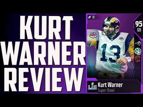 How Good is 95 Overall Kurt Warner? MUT 18 Card